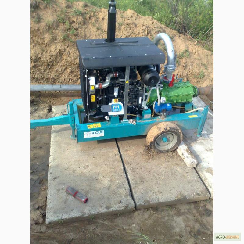 насосная станция дизельная для полива