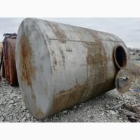 Емкость металлическая 10 м3, резервуар для гсм, бочка для воды, бак