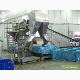 Оборудование консервирования заморозки переработки овощей фруктов ягод
