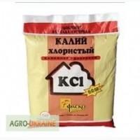 Калий хлористый 60% -авто и вагонными нормами по Украине