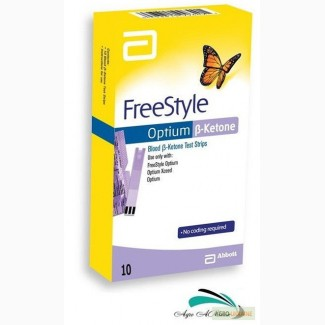 Тест-полоски FreeStyle Optium β-Ketone, 10 шт