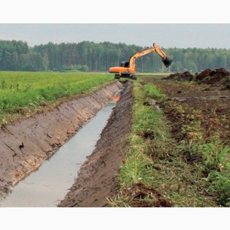 Создание и очистка водоемов, поливных мелиорационных каналов, дренажных каналов