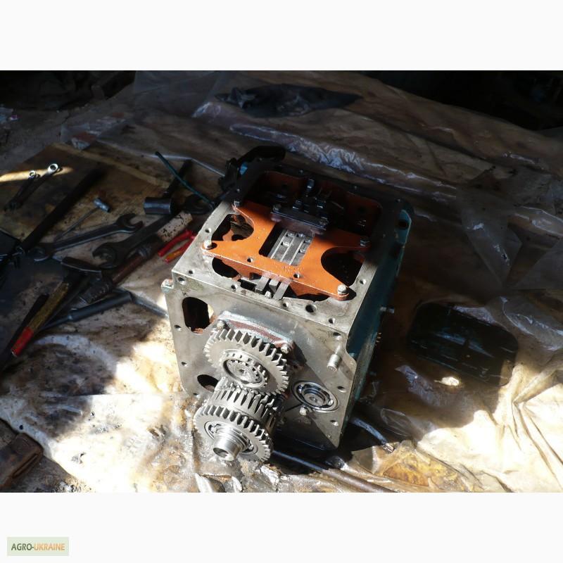 Первичный и вторичный вал коробки передач трактора МТЗ-80.