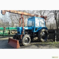 Продам кран на базе трактора МТЗ 80