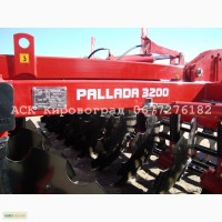 Борона дискова причіпна Палада-3200 фото ціна Борони виробництва Кіровоград Червона Зірка