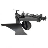 Плуг для мотоблока Zirka-105 (опорне колесо, коротка рама), ПЛ10
