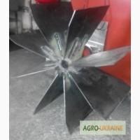 Запчастини до сушильних барабанів АВМ-1, 5 (вал вентилятора, крильчатка вентилятора, шків