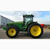 7000 м.ч. 2005 г трактор John Deere 8520 (335 л.с.) из США б/у купить