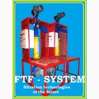 Линия фильтрования масел растительных. FTF - system