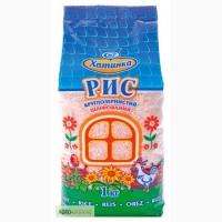 Рис круглозернистий шліфований, 1 кг