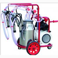 Доильный аппарат попарного доения для коров турецкий. Ведро 40 л