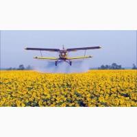 Авиация для десикации растений подсолнечника по Украине