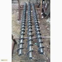 Шнековая спираль. новая. наружн. диаметр 140 мм, перо 2 мм, вал - 33 мм. в наличии