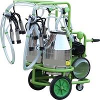 Доильный аппарат для коров с двумя ведрами. Нержавейка. Турция