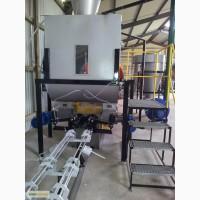 Пресс для производства топливных брикетов из отходов древесины и соломы