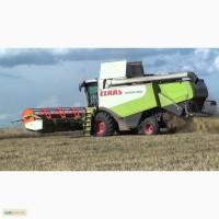 Услуги по уборке урожая подсолнуха сои кукурузы