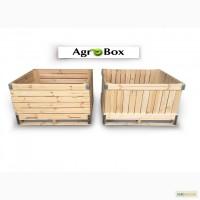 Деревянный контейнер (ящик) для овощей и фруктов