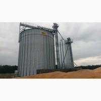 Зернохранилище силос с плоским дном вместимостью 1050 т