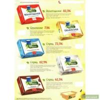Продажа оптом высококачественного сливочного масла и спредов ТМ «ЭкоМилк»