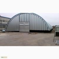 Бескаркасное строительство ангаров, складов и перекрытий