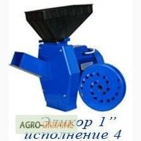 Кормоизмельчитель Зернодробилка Эликор1 исп.4 (Зерно + корнеплод + трава)