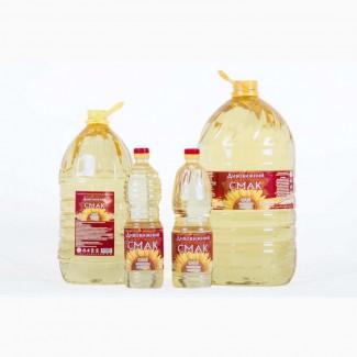 Олія соняшникова рафінована дезодорована марки П опт від виробника ТОВ «ТК Сан ойл»