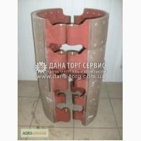Колодка тормоза заднего верхняя (В 140 mm), колодка тормозная задняя КРАЗ