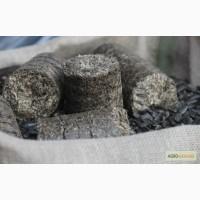 Топливные Брикеты Nestro из лузги подсолнечника