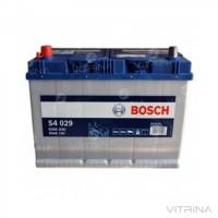 Аккумулятор BOSCH 95Ah-12v S4029 (306x173x225) со стандартными клеммами | L, EN830 (Азия)