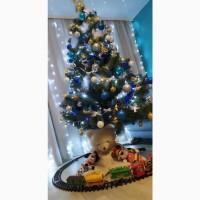 Елка искусственная Ялинка Штучна Сосна Ель ПВХ Christmas tree