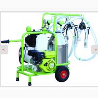 Доильный аппарат для коров универсальный на бензиновом двигателе + сеть 220 А