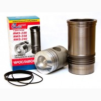 Цилиндро-поршневой комплект ЯМЗ-236 4к (Поршнекомплект ЯМЗ-236, Гильза+Поршень+РТИ) Конотоп