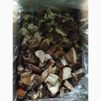 Замороженный белый гриб индустриальный, 3 сорт, нарезанный кубиком, Закарпатский