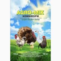 Комбикорм полнорационный «Agro-Mix» от производителя