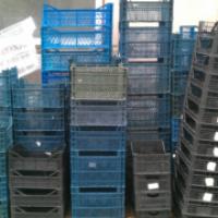 Ящики пластмассовые б/у