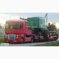 Перевозки негабариту, трал у Львові, негабаритні перевезення вантажів по Україні