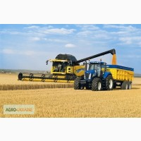 Уборка урожая зерновых комбайнами Житомир, аренда комбайнов на уборку зерна, услуги уборки