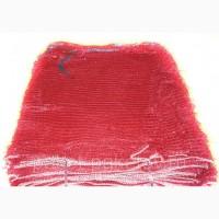 Сетка овощная 42*63 см- 25 кг (красная) под лук