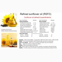 Подсолнечное масло рафинированное, CIF ASWP