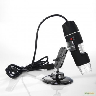 USB микрскоп Magnifier SuperZoom 50-500X с LED подсветкой