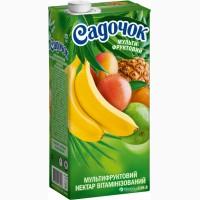 Сік Садочок вітамінізований 1.93 л х 6 шт