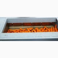 Порционная щеточная мойка для овощей, корнеплодов и орехов 1т/час