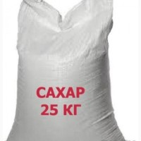 Сахар в/с в пакетах по 25 кг