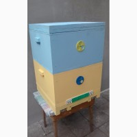 Ульи для пчел из пенополистирола с деревянными пазами