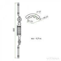 Диск сцепления Т-150 (СМД-60 и др.) главной муфты| 150.21.024-3А (ТАРА)