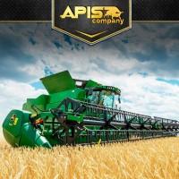 Уборка урожая пшеницы и рапса по Украине