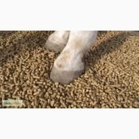 Подстилка гранулированная для лошадей и других животных, соломенная