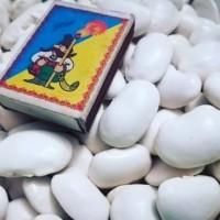 Продам квасолю Ясь Королівський ( Fasola Jaś piękny) фасоль белая крупная 45-шт на 100грам