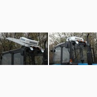 Установка, ремонт и заправка кондиционеров на трактора и комбайны