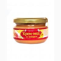 Крем-мед із імбирем 130г